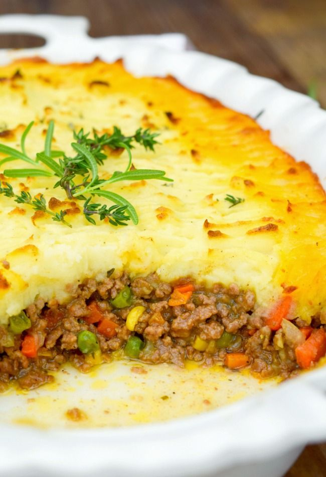 Alton Brown Shepherd S Pie Recipe Sheppards Pie Recipe Beef Recipes Shepherds Pie Recipe Easy