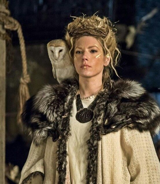 Queen Lagertha, looking so fierce