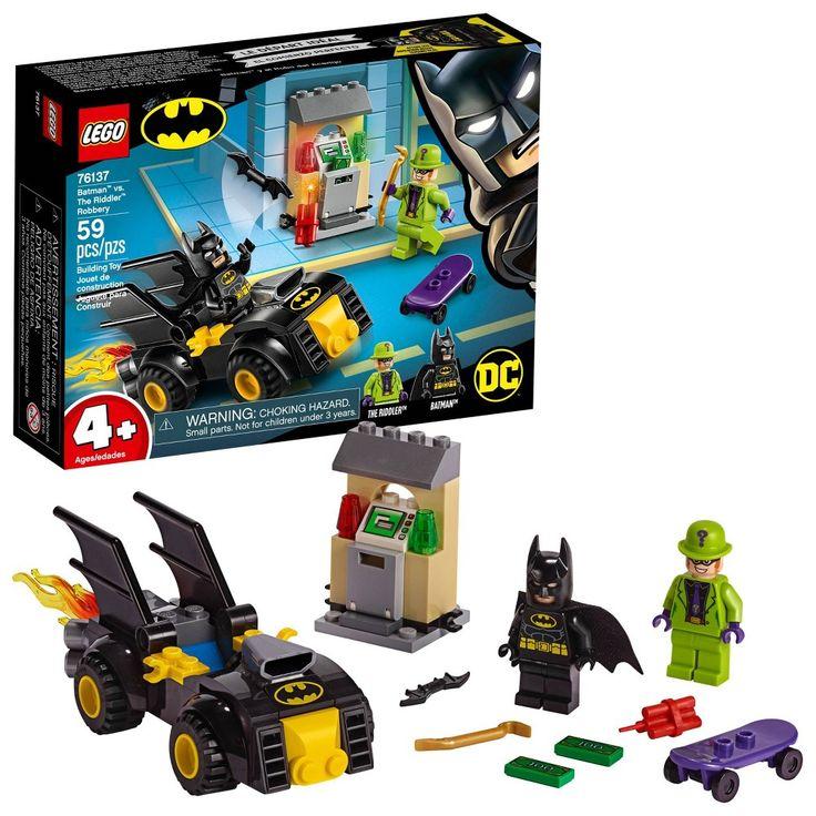 LEGO DC Comics Super Heroes Batman vs. The Riddler Robbery