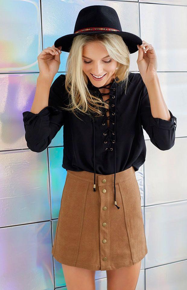 Best 25  Khaki skirt outfits ideas on Pinterest | Camel vintage ...