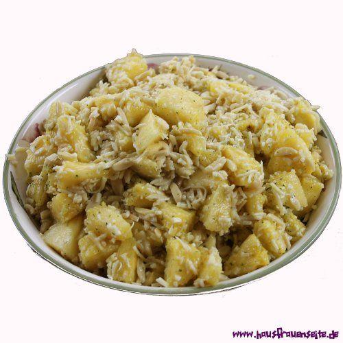 genialer Käsesalat mit Ananas