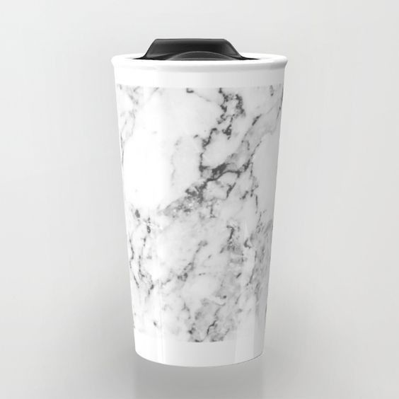 Travel Mug - Must-Have Accessories If You're Marble Obsessed - Photos