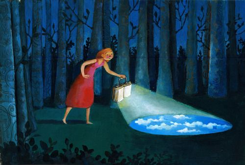 Reading enlightens us against ignorance / La lectura nos ilumina contra la ignorancia (ilustración de Cristina Bernazzani)