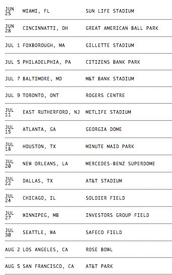 Beyoncé & Jay On The Run Tour  Ticket Prices Range From $48.64 - $240.24