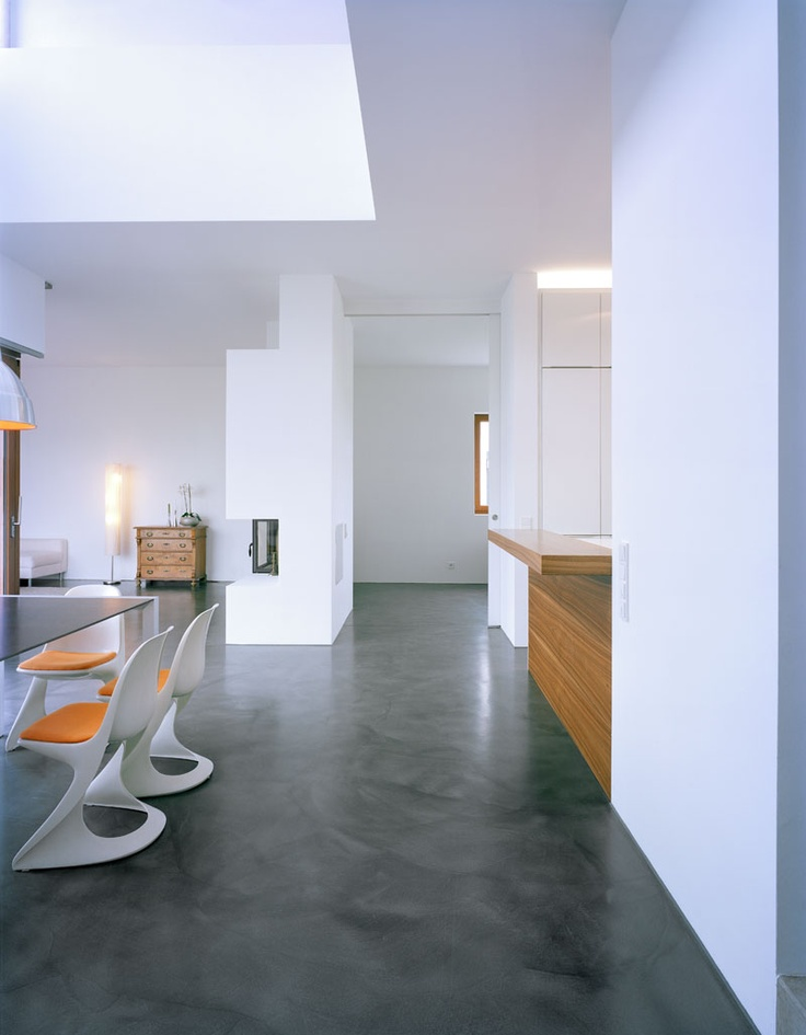 36 best beton cire \/ floor images on Pinterest Cement floors - interieur bodenbelag aus beton haus design bilder
