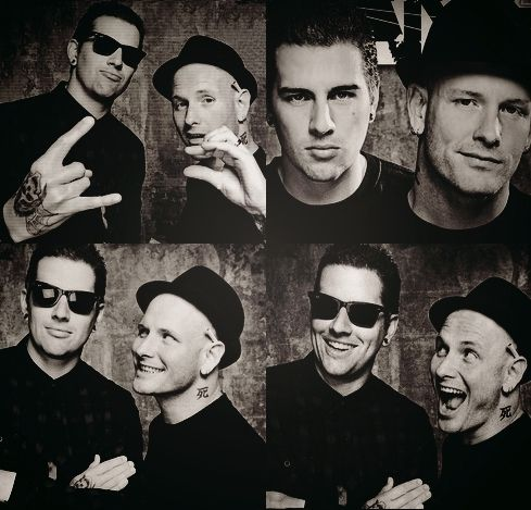 Matthew Shadows, Avenged Sevenfold and Corey Taylor, Slipknot/Stone Sour.