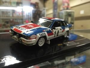 1:43 IXO Models Nissan 240RS Rally Montecarlo