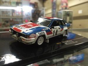 1:43 IXO Models Nissan 240RS Rally Montecarlo