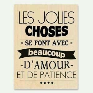 Citations option bonheur: Amour et patience