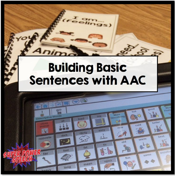 Help your early language learners to build sentences! This post gives tips on how to use the core language to expand utterance length, increase motor automaticity, and provide basic literacy skills. This post is a must for anyone who works with low language or beginning AAC users.