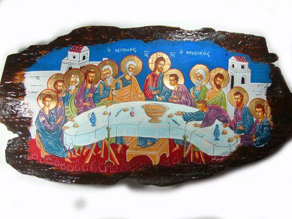 Last Supper Jesus Christ & 12 Disciples  by SilveradoJewellery