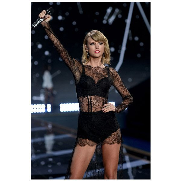Taylor Swift, Ariana Grande + More At 2014 Victoria's Secret Fashion... ❤ liked on Polyvore