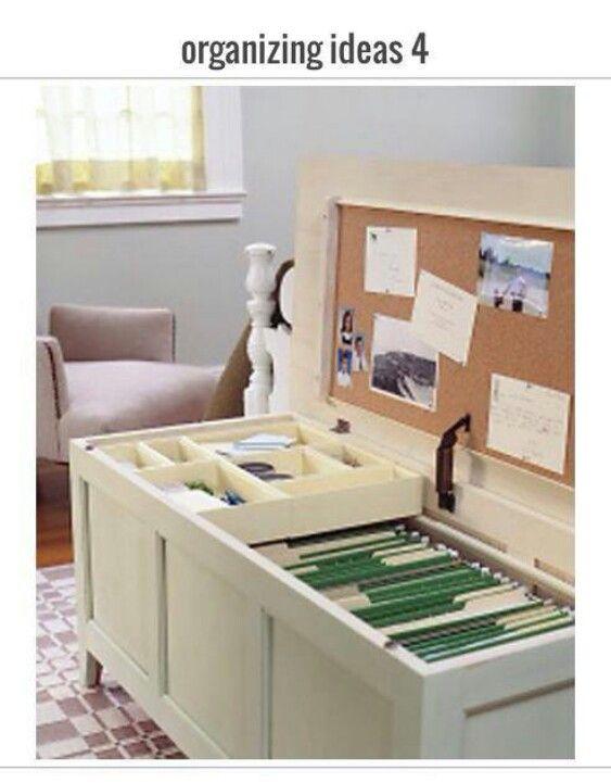 Cedar chest/file cabinet