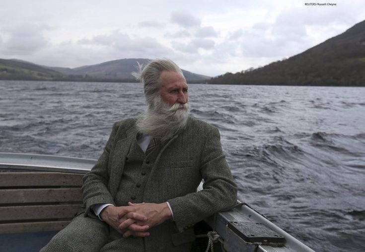 """gaslampsglow: """" redditfront: """" Adrian Shine, the leader of the Loch Ness Project, looks exactly like how I imagined the leader of the Loch Ness Project looks like - via http://ift.tt/23z6vND """" What a goddam masterpiece of a photo. """""""