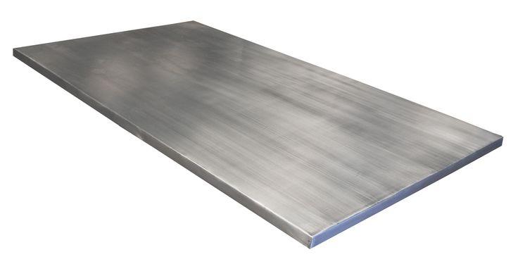 Plan de cuisine en zinc, plan de travail zinc