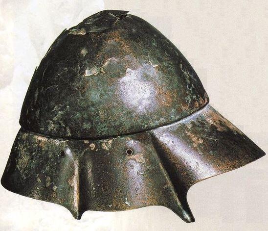 Boeotian helmet, 4th century B.C.
