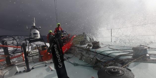 Groupama 4, premier au cap Horn #VolvoOceanRace