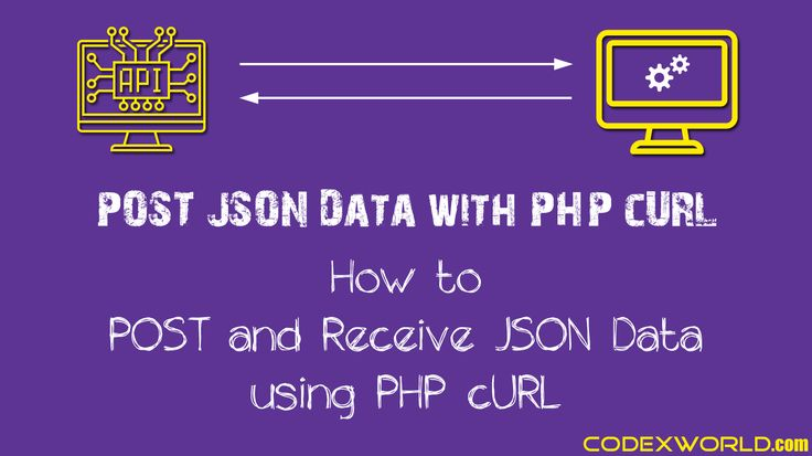 POST JSON Data to URL with PHP cURL - Learn how to send JSON data via POST request using PHP cURL. Example code to send and receive JSON data with cURL in PHP