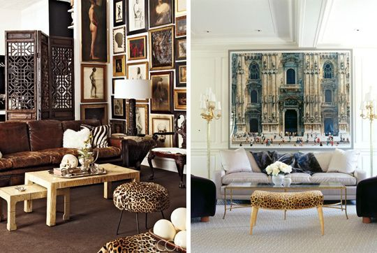 ARAWR: 35 Exmaples of Animal Print Rooms    This photo: Animal Print Living Rooms.