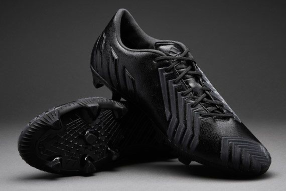 adidas Football Boots- adidas Predator Instinct FG - Firm Ground - Mens Soccer Cleats - Black-Black