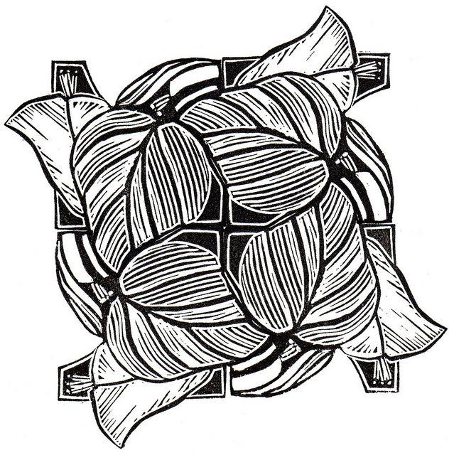 12 best Tessellation Leaf Pattern images on Pinterest