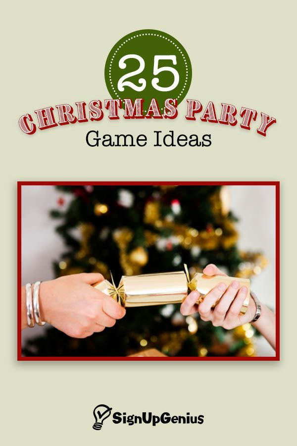 25 Christmas party game ideas that will bring holiday cheer to your party. Choose from classic games to creative ones for your guests.