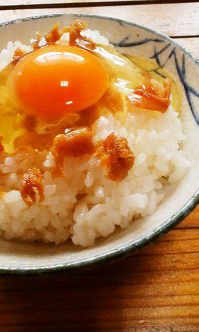 さっぱりと美味しい梅干のポンズがけ卵ご飯 by みゅう様だ ...