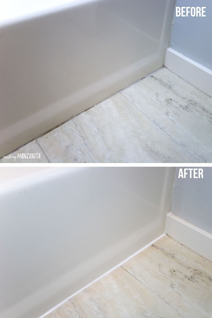 How To Recaulk A Bathtub Diy Bathroom Small Bathroom Trendy