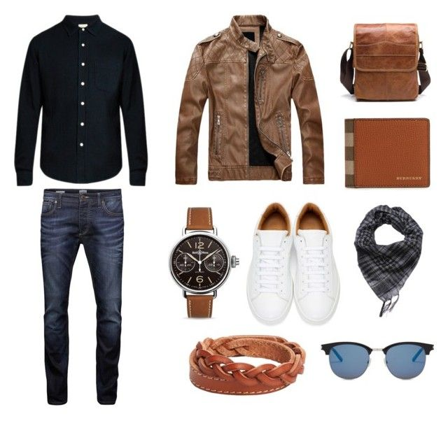 """"" by ricardo-rodriguez-hernandez on Polyvore featuring Simon Miller, Jack & Jones, Marc Jacobs, Bell & Ross, MANGO MAN, Yves Saint Laurent, Burberry, men's fashion y menswear"