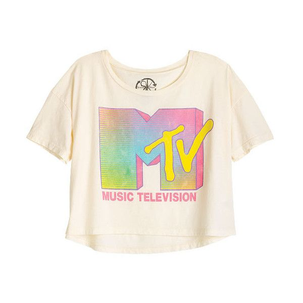 MTV Neon Tee (21 NZD) ❤ liked on Polyvore featuring tops, t-shirts, shirts, tees, graphic tees, pink tee, t shirt, graphic shirts, pink t shirt and graphic t shirts