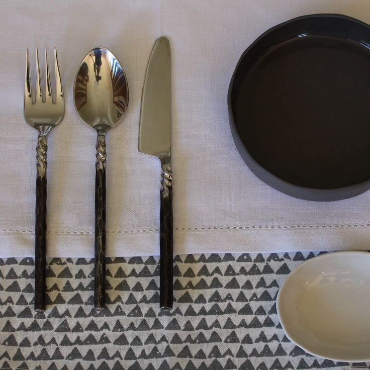 Matteo Grey Napkin Set of 4