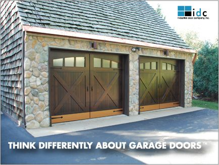 Garage Doors Are Nice, But The Roof Is Facing The Wrong Way. The Snow Will  Fall Off The Roof And Pile Up In Front Of The Garage Doors, Ugh!