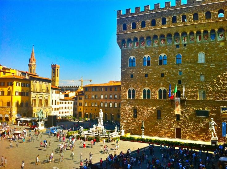 Piazza della Signora, Florence, Italy