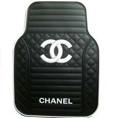 Buy Wholesale Classic Chanel Universal Automotive Carpet Car Floor Mats Rubber 5pcs Sets - White+Balck from Chinese Wholesaler - hibay.gd.cn