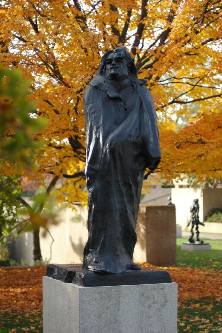 Monument to Balzac in the courtyard of Musée Rodin, Paris