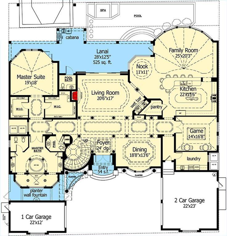 100 54 best floor plans images house plan luxury for 100 floors floor 75