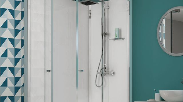 Les 25 meilleures id es de la cat gorie salle de bains de for Photos de douche