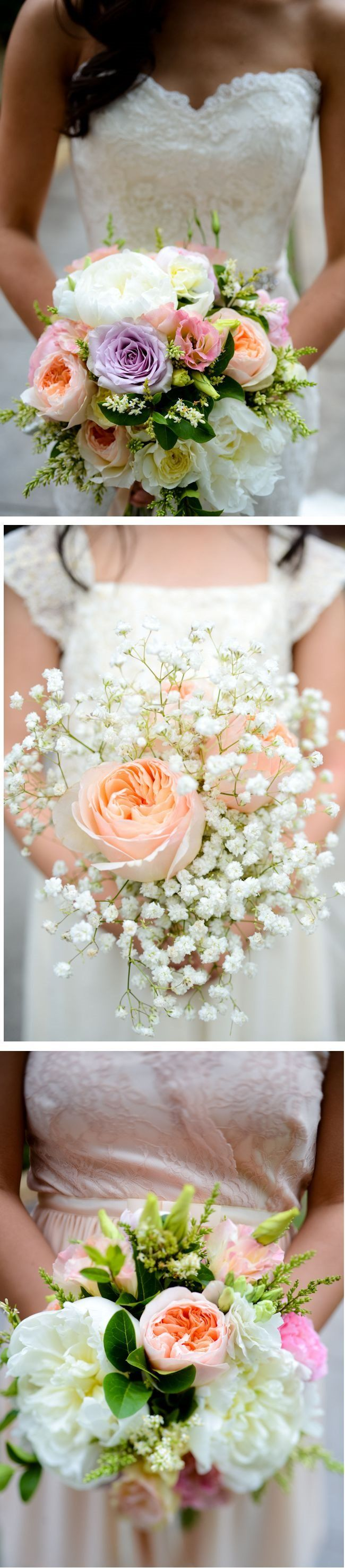 Wedding Flowers from the Benjamin Roberts Bride of the Month, July 2014