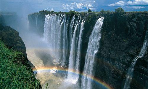Les chutes Victoria, Zimbabwe paysages Afrique