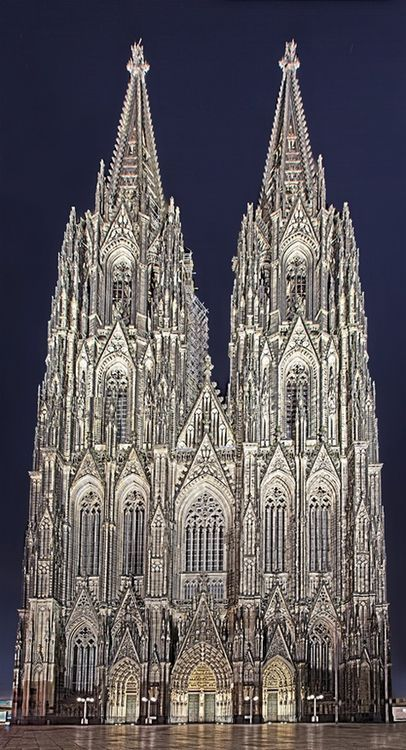 Cologne Cathedral : I first saw the Catherdral when I was 8, with my father.  Saw it again when I was 21 on my grand tour of discovery and found my self looking up to see my father - we are now the same height.