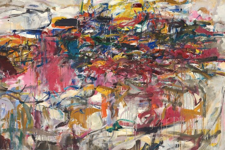 Educator resource packet city landscape by joan mitchell