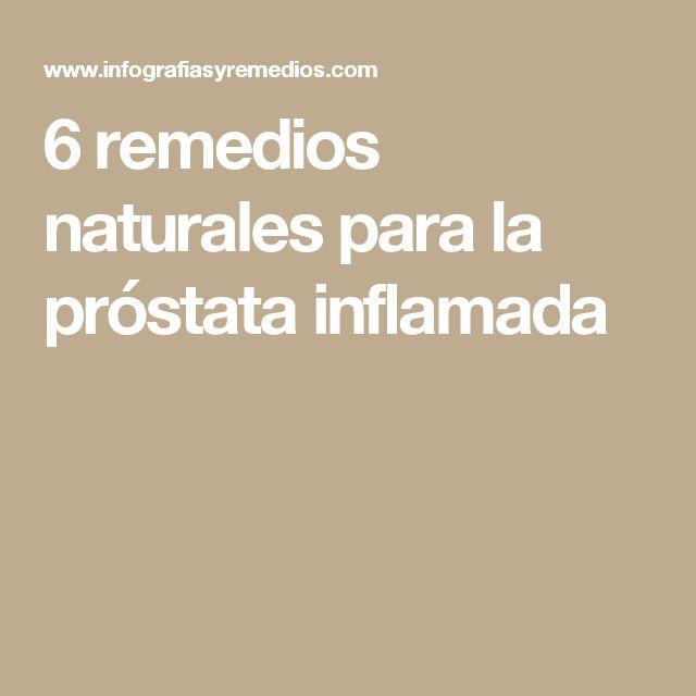 6 remedios naturales para la próstata inflamada