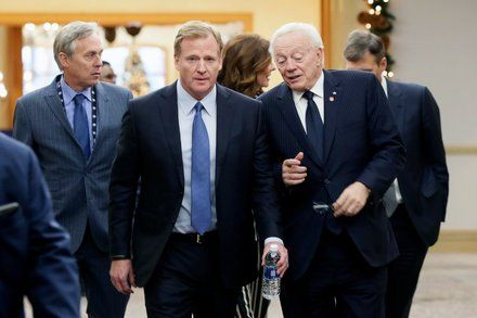Roger Goodell Expected to Demand Millions of Dollars From Jerry Jones