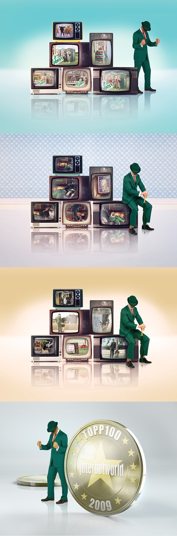 Mr Green - FY by Kristian Sörefelt, via Behance