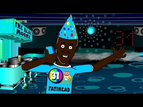 YAYA TOURE'S BIRTHDAY by 442oons (football cartoon)