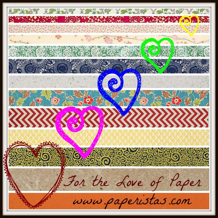 For the love of paper. Paperistas has been collecting and selling hand picked selection of different handmade papers that no other stores have. Some of these incredible paper collection are limited editions from different countries and would make your paper arts worth a fortune! Visit  www.paperistas.com