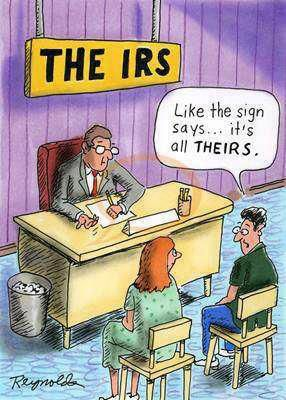 All theirs #irs #tax #humor
