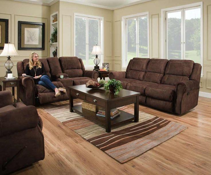chocolate living room set. Simmons Upholstery  Osborn 3 Piece Power Living Room Set 50868PBR 53 63 Best 25 Chocolate living rooms ideas on Pinterest Rustic doors