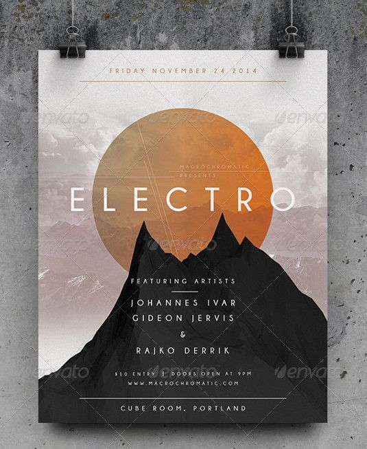 The 23 best flyer templates | Graphic design | Creative Bloq
