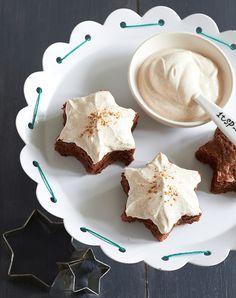 Brownies mit Zimtschmand